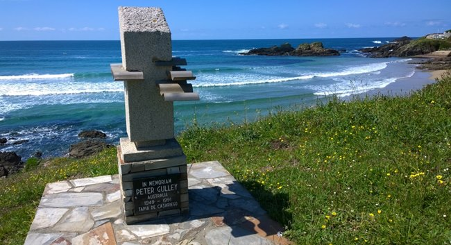memoriam peter gulley, tapia de casariego, surf, north of Spain, Asturias